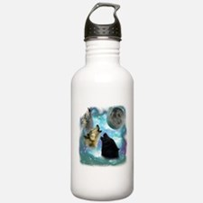 Wolves Misty Shine 01 Water Bottle