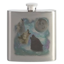 Wolves Misty Shine 01 Flask