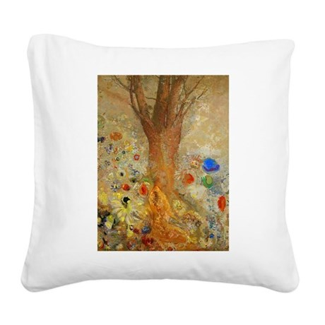 Odilon Redon Buddha In His Youth Square Canvas Pil
