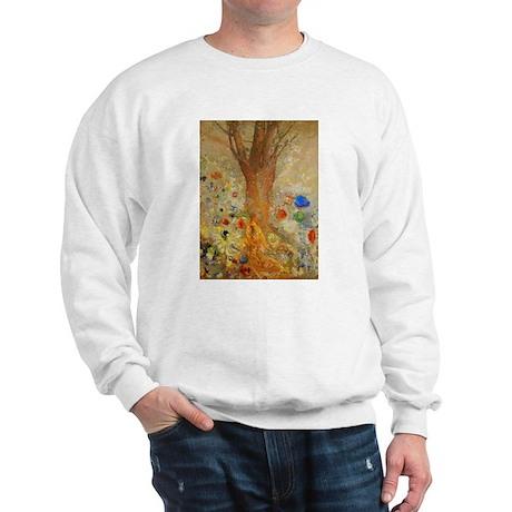 Odilon Redon Buddha In His Youth Sweatshirt