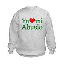 I love grandpa (Spanish) Sweatshirt