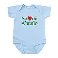 I love grandpa (Spanish) Infant Bodysuit