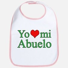 I love grandpa (Spanish) Bib