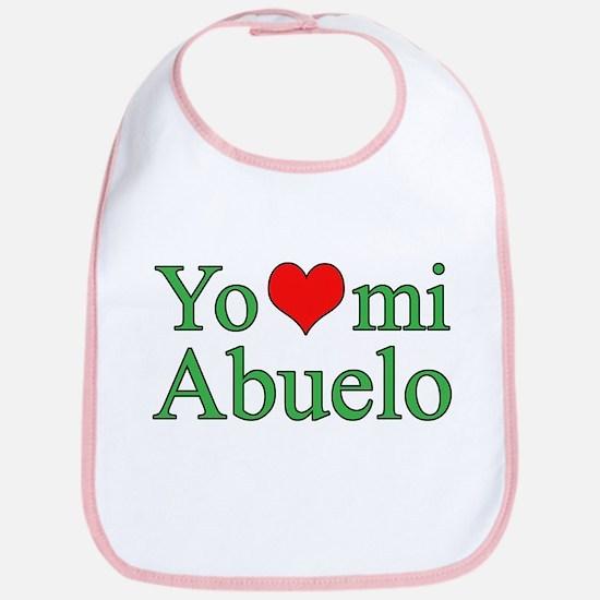 I love grandpa (Spanish) Bib