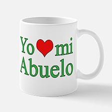 I love grandpa (Spanish) Mug