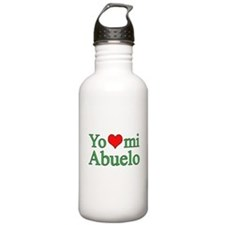 I love grandpa (Spanish) Water Bottle