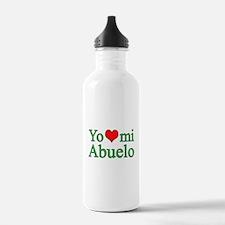 I love grandpa (Spanish) Water Bottle