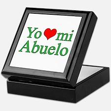 I love grandpa (Spanish) Keepsake Box