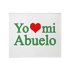 I love grandpa (Spanish) Throw Blanket