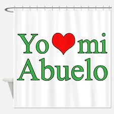 I love grandpa (Spanish) Shower Curtain