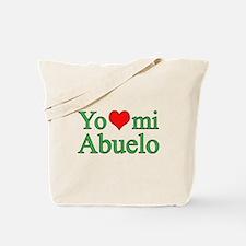 I love grandpa (Spanish) Tote Bag