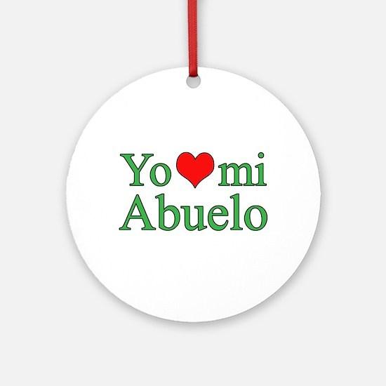 I love grandpa (Spanish) Ornament (Round)
