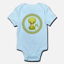 Cute Chinese Year of the Snake Infant Bodysuit