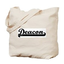Black jersey: Deacon Tote Bag