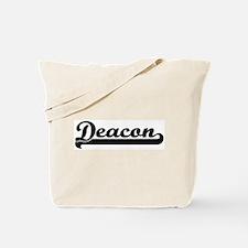 Black jersey: Deacon Tote Bag