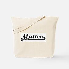 Black jersey: Matteo Tote Bag