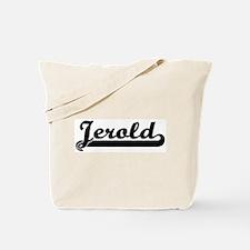 Black jersey: Jerold Tote Bag