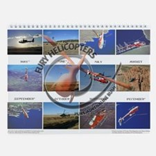 12 Months of The big Helicopter Wall Calendar