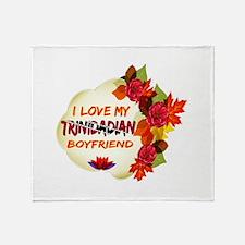 Trinidadian Boyfriend designs Throw Blanket
