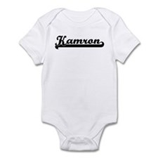 Black jersey: Kamron Infant Bodysuit