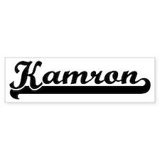 Black jersey: Kamron Bumper Bumper Sticker