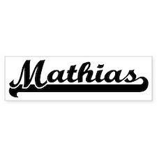 Black jersey: Mathias Bumper Bumper Sticker