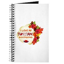 Tunisian Boyfriend designs Journal