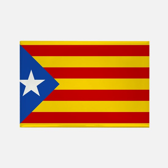 LEstelada Blava Catalan Independence Flag Rectangl