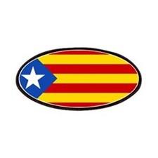 LEstelada Blava Catalan Independence Flag Patches