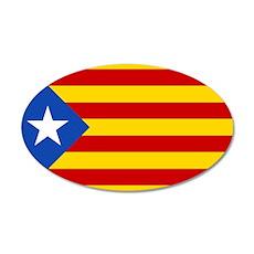 LEstelada Blava Catalan Independence Flag Wall Decal