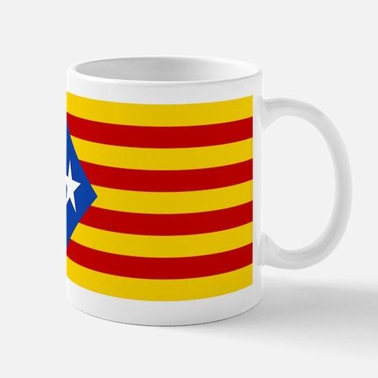 LEstelada Blava Catalan Independence Flag Mug