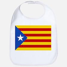 LEstelada Blava Catalan Independence Flag Bib