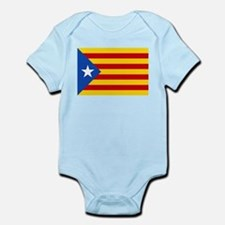 LEstelada Blava Catalan Independence Flag Infant B