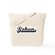 Black jersey: Rohan Tote Bag
