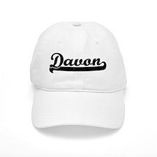 Black jersey: Davon Baseball Cap