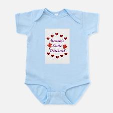 Mommy's Little Valentine Infant Bodysuit