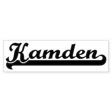 Black jersey: Kamden Bumper Bumper Sticker