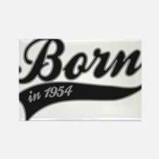 Born in 1954 - Birthday Rectangle Magnet