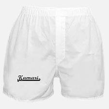 Black jersey: Kamari Boxer Shorts