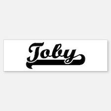 Black jersey: Toby Bumper Bumper Bumper Sticker