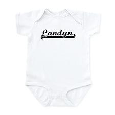 Black jersey: Landyn Infant Bodysuit
