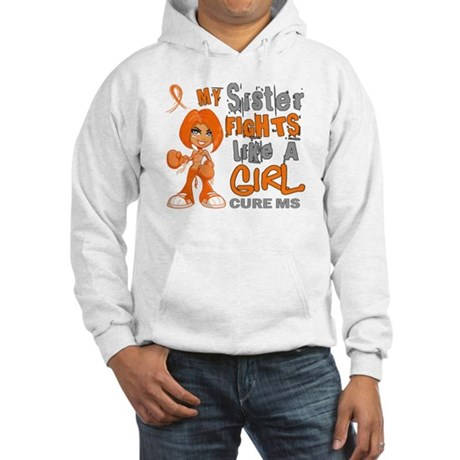 Fights Like a Girl 42.9 MS Hooded Sweatshirt