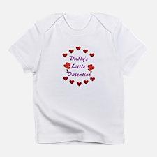 Daddy's Little Valentine Infant T-Shirt