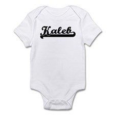 Black jersey: Kaleb Infant Bodysuit