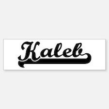 Black jersey: Kaleb Bumper Bumper Bumper Sticker