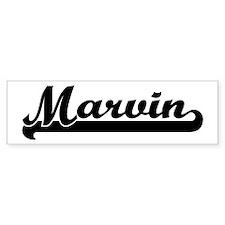 Black jersey: Marvin Bumper Bumper Sticker