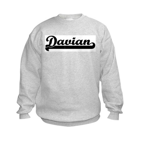 Black jersey: Davian Kids Sweatshirt