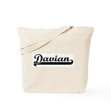 Black jersey: Davian Tote Bag