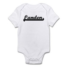 Black jersey: Landen Infant Bodysuit
