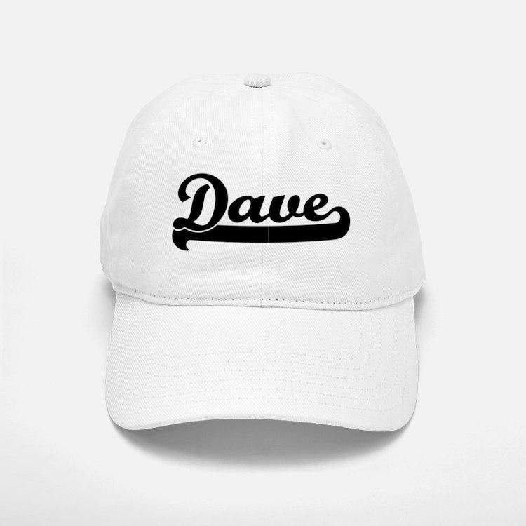 Black jersey: Dave Baseball Baseball Cap